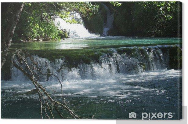 Obraz na płótnie Jeziora Plitwickie (5) - Woda