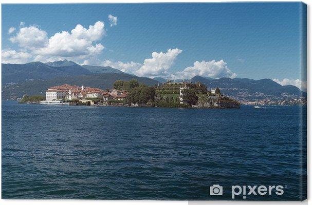 Obraz na płótnie Jezioro Maggiore - Stresa, Isola Bella oraz Isola Pescatori - Europa