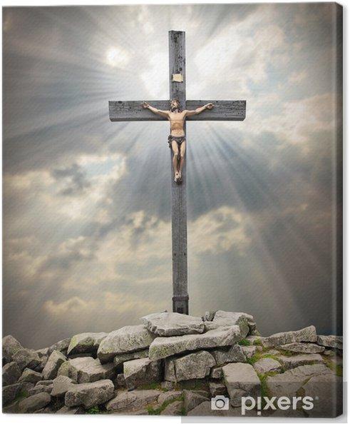 Obraz na płótnie Jezus Chrystus na krzyżu - Tematy