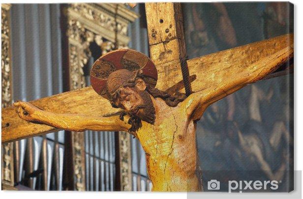 Obraz na płótnie Jezus na krzyżu. - Europa