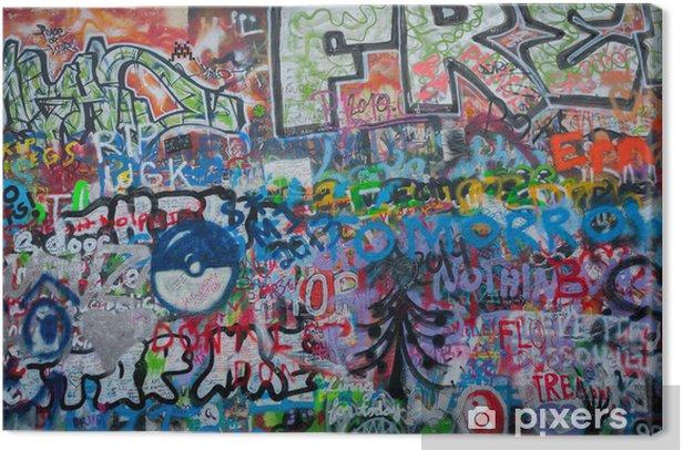 Obraz na płótnie John Lennon graffiti ściany w Pradze - Sztuka i twórczość