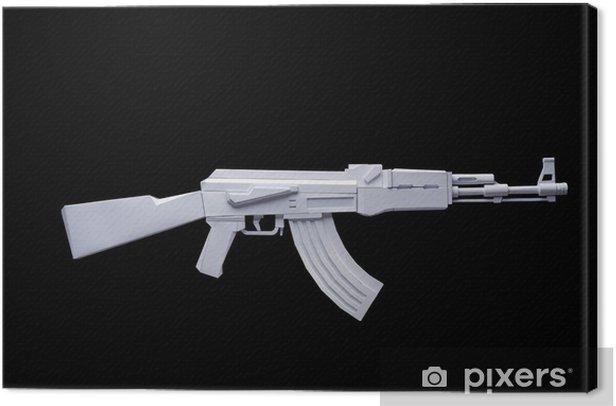 Obraz na płótnie Kalashnikov z papieru - Życie