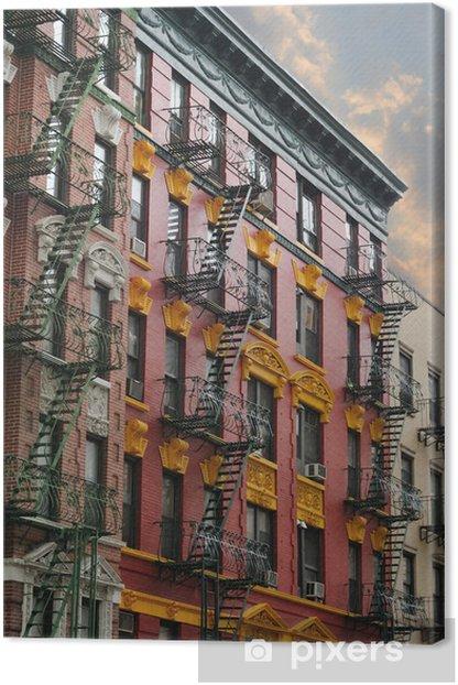 Obraz na płótnie Kamienice Miasto Nowy Jork - Miasta amerykańskie