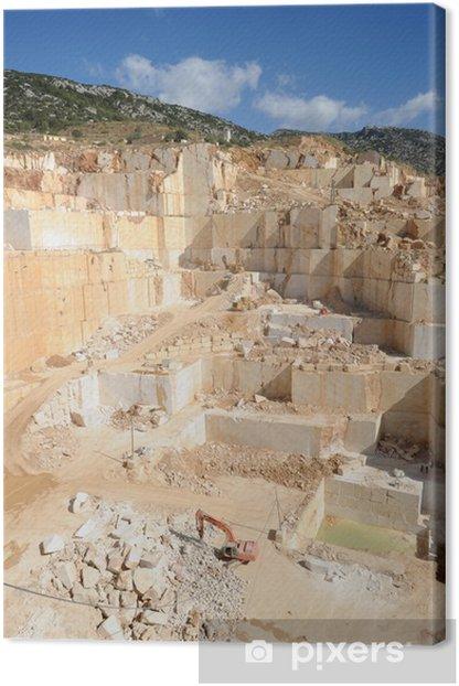 Obraz na płótnie Kamieniołom granitu na wyspie Sardynia Orosei - Europa