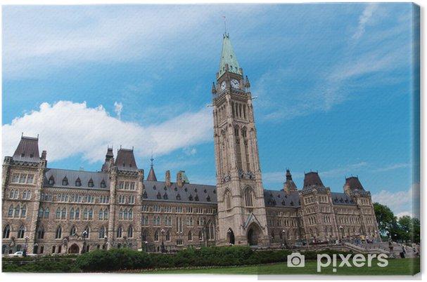 Obraz na płótnie Kanadyjska Budynek Parlamentu w Ottawie - Ameryka