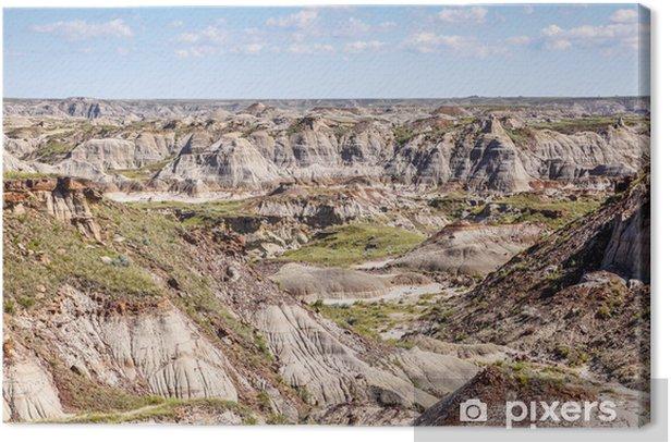 Obraz na płótnie Kanadyjskie Badlands Drumheller, Alberta - Ameryka
