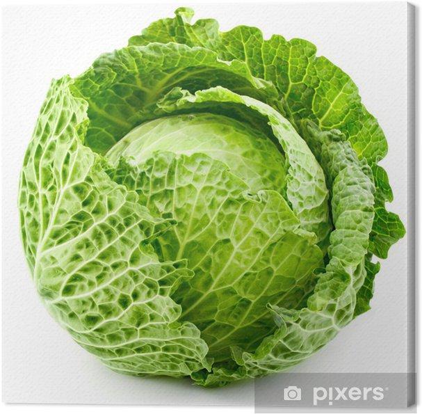 Obraz na płótnie Kapusta izolowane - Warzywa