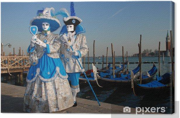 Obraz na płótnie Karnawał w Wenecji - Miasta europejskie