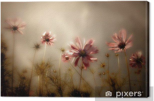 Obraz na płótnie Karta kwiaty - Dom i ogród