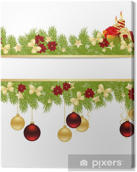 Obraz na płótnie Kartka świąteczna - Święta międzynarodowe