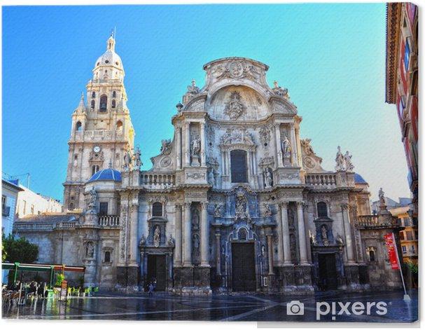 Obraz na płótnie Katedra Murcia, Jaime Bort, barokowy - Europa