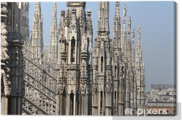 Obraz na płótnie Katedra w Mediolanie, Duomo di Milano, Włochy - Tematy