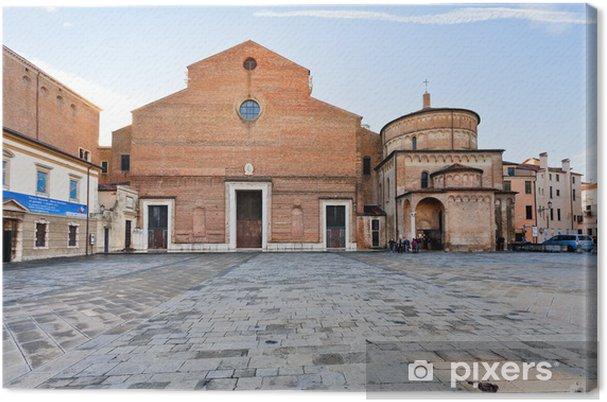 Obraz na płótnie Katedra w Padwie z baptysterium, Włochy - Europa