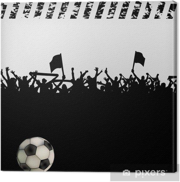 Obraz na płótnie Kibice tłoczą - Sporty indywidualne