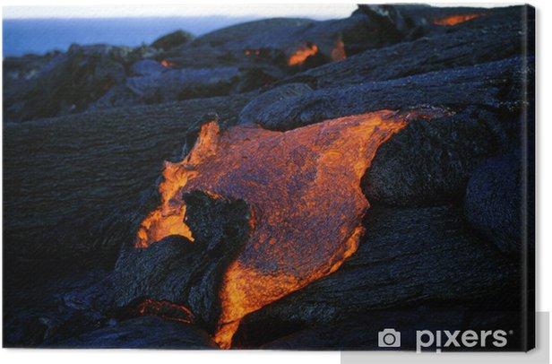 Obraz na płótnie Kilauea 0271 - Klęski żywiołowe