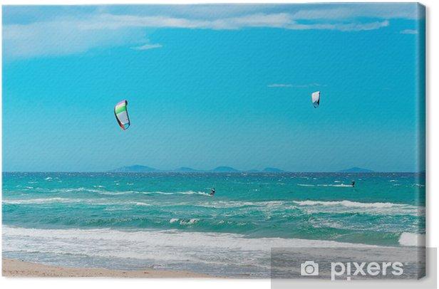 Obraz na płótnie Kiting - Sporty wodne
