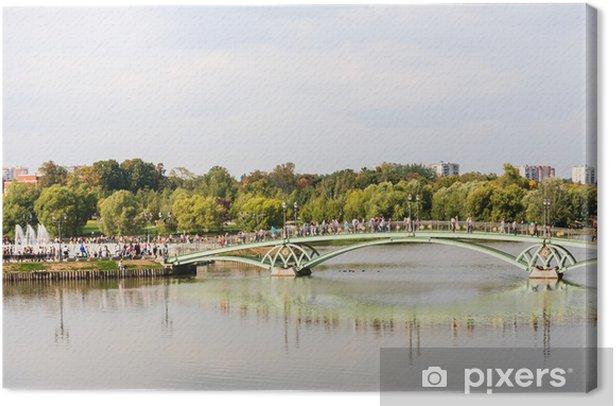 Obraz na płótnie Kładka w Państwowym Muzeum Tsaritsyno. Moskwa - Infrastruktura