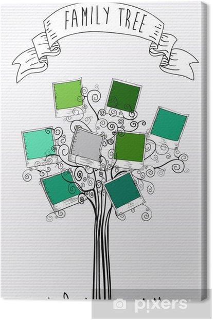 Obraz na płótnie Klasyczne linie natychmiastowe zdjęcie drzewo - Drzewa