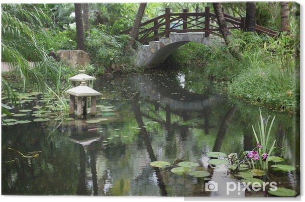 Obraz na płótnie Klasyczny ogród chiński, południe Chiny - Krajobraz wiejski
