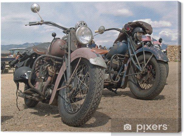 Obraz na płótnie Klasycznych amerykańskich motocykli - iStaging