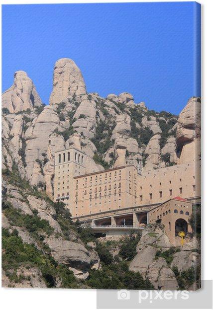 Obraz na płótnie Klasztor Montserrat (Katalonia, Hiszpania) - Tematy