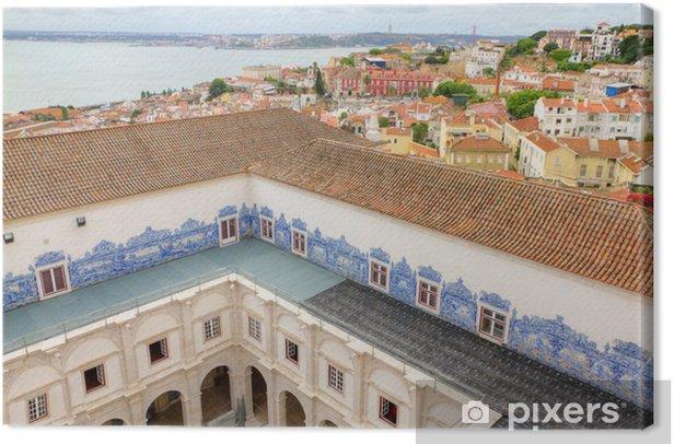 Obraz na płótnie Klasztor Saint Vincent Murami, Lizbona - Miasta europejskie