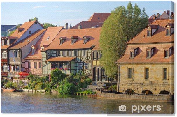 Obraz na płótnie Klein Wenecja Bamberg - Bamberg Mała Wenecja 09 - Europa