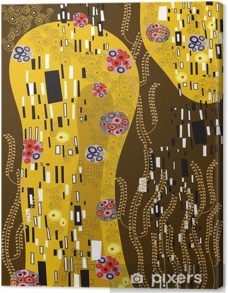 Obraz na płótnie Klimt inspirowane streszczenie sztuki - Style