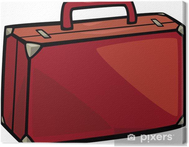 Obraz na płótnie Klip sztuki ilustracji animowany walizka - Akcesoria