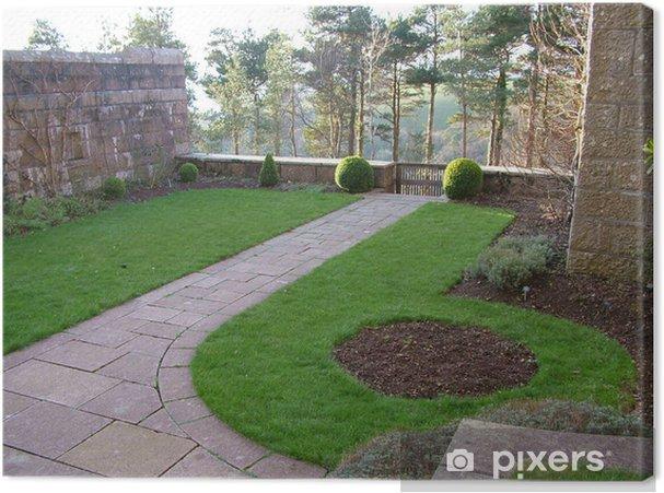 Obraz na płótnie Knot garden - Sukces i osiągnięcia
