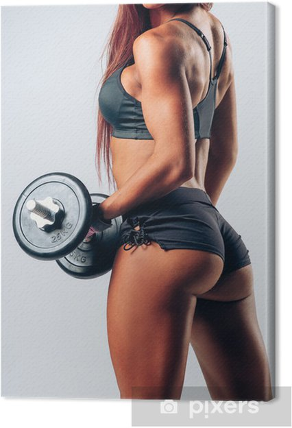Obraz na płótnie Kobieta fitness - Zdrowie