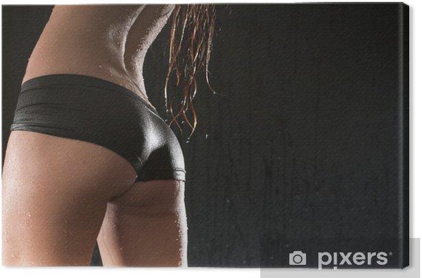 Obraz na płótnie Kobieta mokry beauty ass - Bielizna