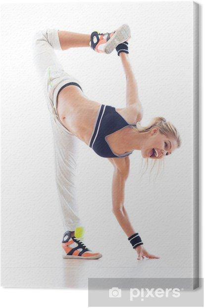 Obraz na płótnie Kobieta tancerz hip-hop - Tematy