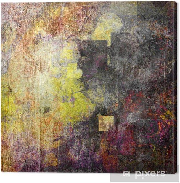 Obraz na płótnie Koła kwadraty tekstury - Sztuka i twórczość