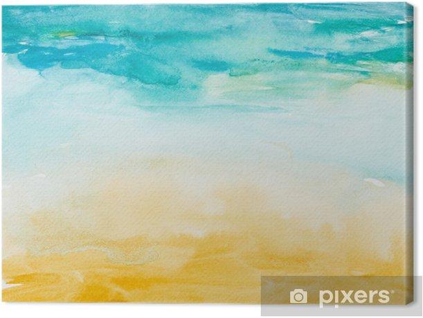 Obraz na płótnie Kolor gładzi akwareli sztuki - Tematy