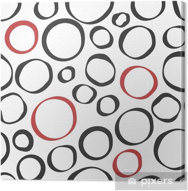 Obraz na płótnie Kolor koło streszczenie bezszwowe tło. - Zasoby graficzne
