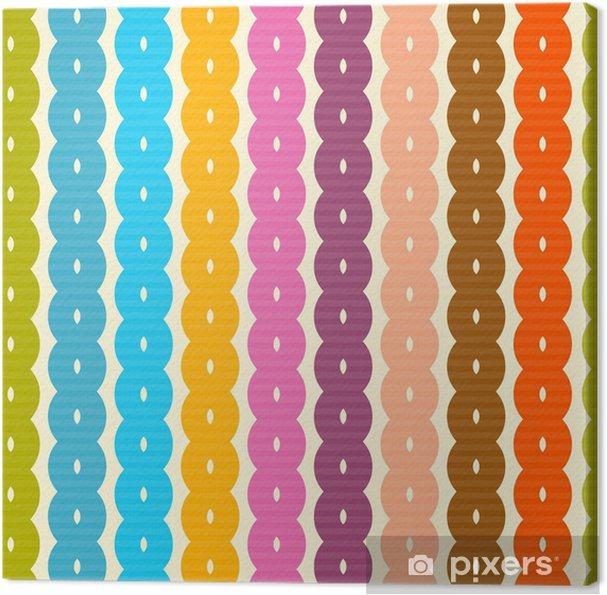 Obraz na płótnie Kolorowe abstrakcyjna retro tła bez szwu - Koncepcje biznesowe