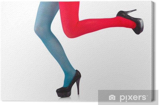 Obraz na płótnie Kolorowe legginsy wyizolowanych na białym - Tematy