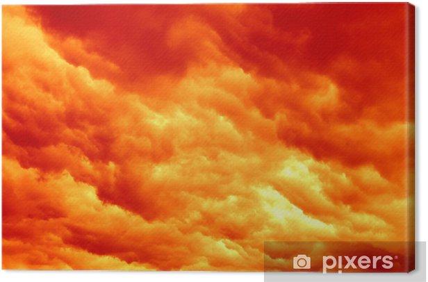 Obraz na płótnie Kolory sunset - Niebo
