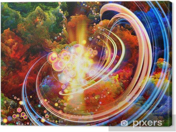 Obraz na płótnie Kolory Wewnątrz - Sztuka i twórczość