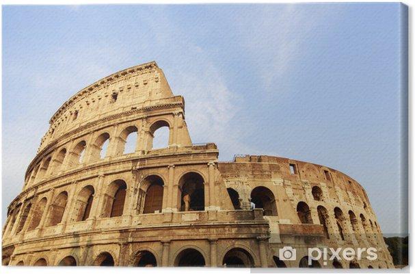Obraz na płótnie Koloseum w Rzymie, Włochy - Miasta europejskie