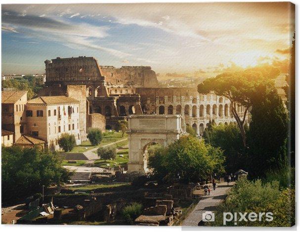 Obraz na płótnie Koloseum w Rzymie, Włochy - Tematy