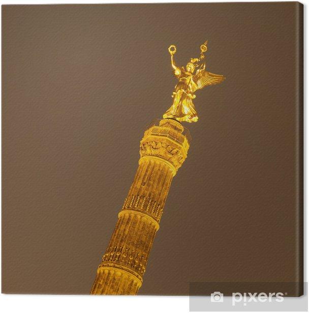 Obraz na płótnie Kolumna Zwycięstwa - Miasta europejskie