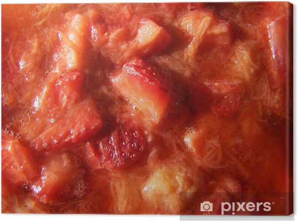 Obraz na płótnie Kompot - Posiłki