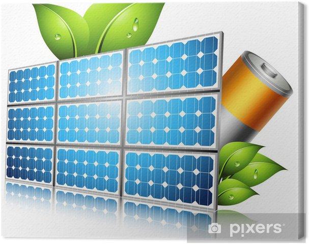 Obraz na płótnie Koncepcja ekologicznego - Elektryczność