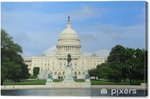 Obraz na płótnie Kongres USA - Miasta amerykańskie