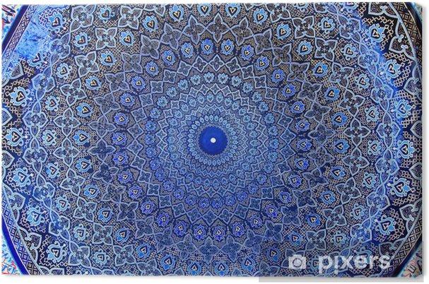 Obraz na płótnie Kopuła meczetu, orientalne ornamenty - Abstrakcja