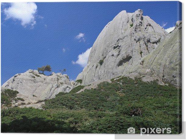 Obraz na płótnie Korsyka, skał granitowych - Europa