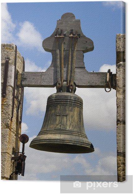 Obraz na płótnie Kościół LARGO dzwon on da Faro, Portugalia - Europa