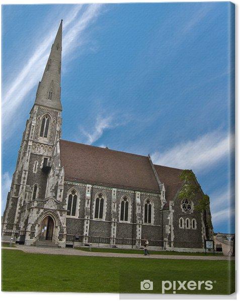 Obraz na płótnie Kościół Saint-Alban w Kopenhadze Danii - Europa